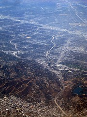 Aerial Los Angeles - the 101 Freeway through Caheunga Pass, Universal City, and Studio City, and a big chunk of the San Fernando Valley | by Matt McGrath Photography