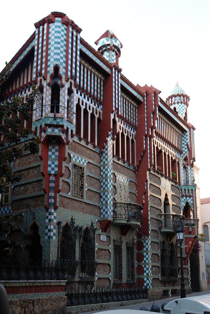 Dsc 1964 young gaudi casa vicens in gr cia ik 39 s world trip flickr - Casa vives gaudi ...