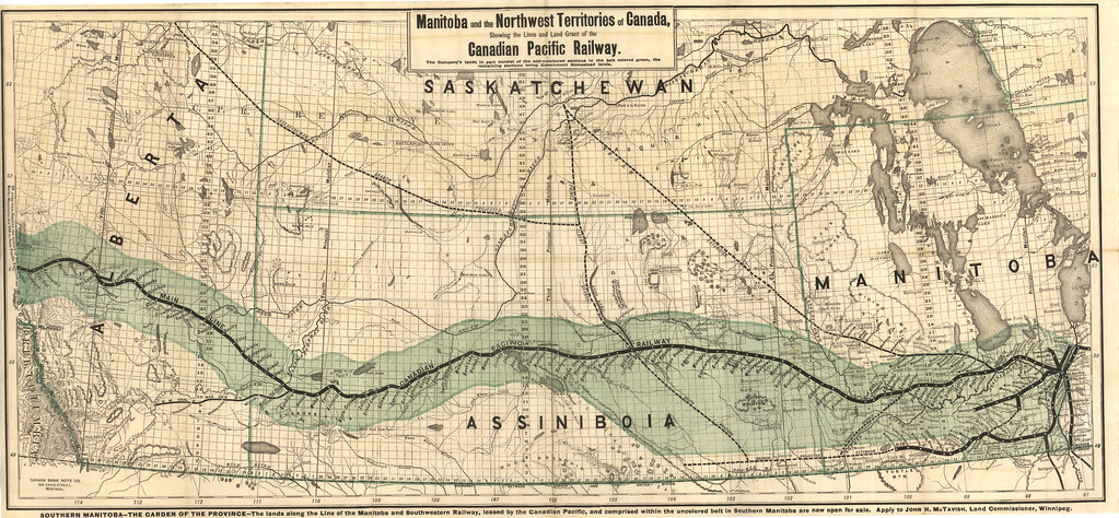 Manitoba and the Northwest Territories of Canada Showing t  Flickr