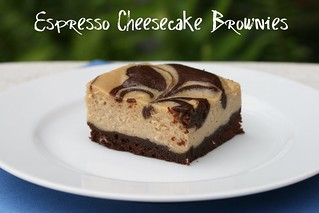 Espresso Cheesecake Brownies - Food Librarian | by Food Librarian