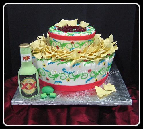 Fiesta Birthday Party Cake Ideas