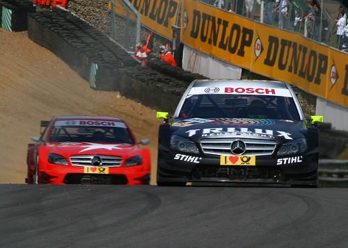 Ralf Schumacher Trilux Amg Maercedes Benz Amg Mercedes