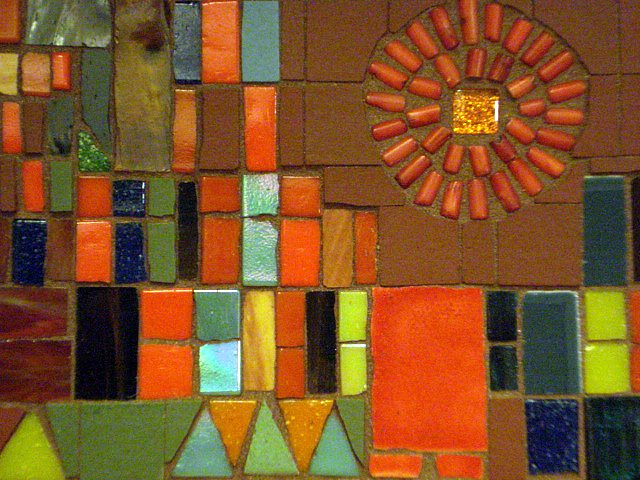 Paul Klee Castle And Sun Reproduction In Mosaic Detail Flickr