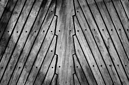 Worn boat deck | by Thomas Leth-Olsen