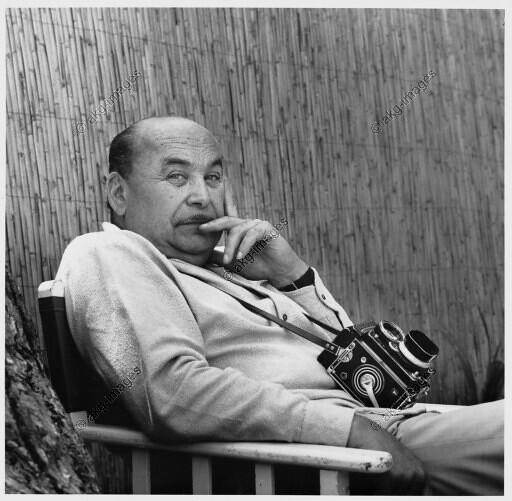 Paul Almásy en Porquerolles (Francia) en 1969