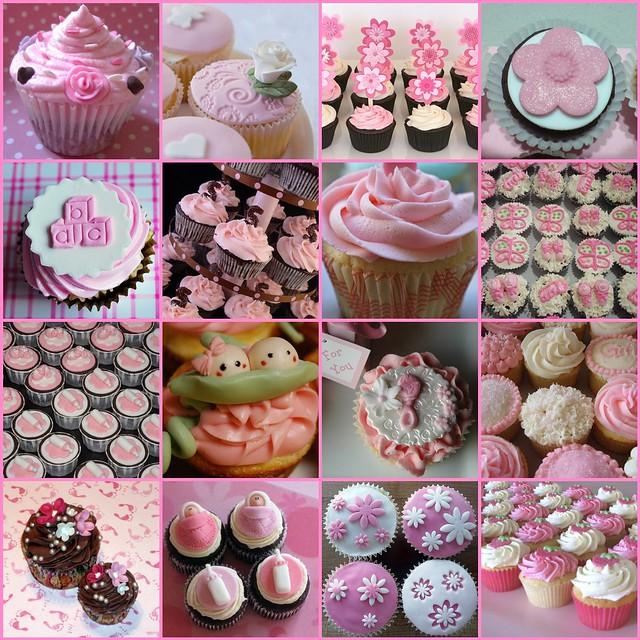Baby Girl Cupcakes 1 Untitled 2 Cupcakes Make People Ha Flickr