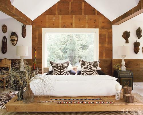 elle decor african bedroom posted on flickr. Black Bedroom Furniture Sets. Home Design Ideas