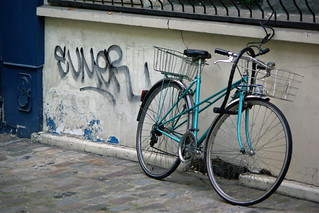 A Fold Up Bike In Paris | by The Hungry Cyclist