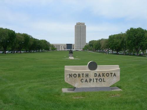 North Dakota State Capitol Amp Grounds  Bismarck North