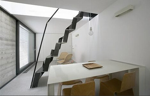... Alternating Tread Staircase By Dekleva Gregorič Arhitekti | By Ouno  Design