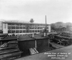 Exterior view of the Oregon Chair Company