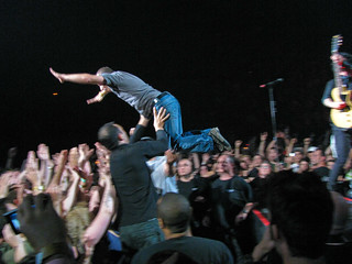 Green Day Concert Crowd Jump - Look Ma, I Can Fly! | by Anirudh Koul