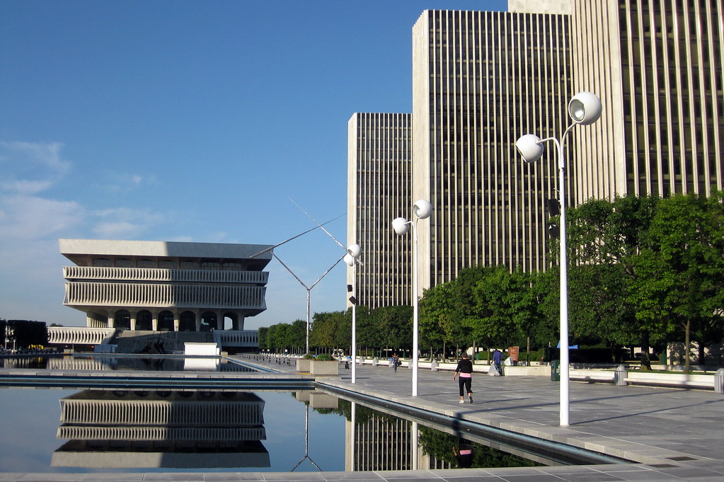 Ny Albany Empire State Plaza The Cultural Education