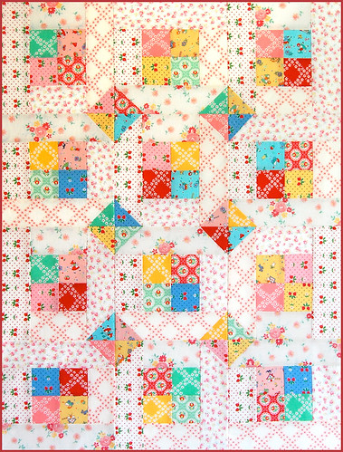 Two Happy - free quilt patten | by Happy Zombie
