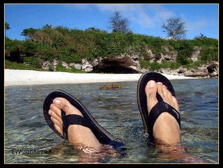 Ladder Beach Sandals | by Saipan Pictures