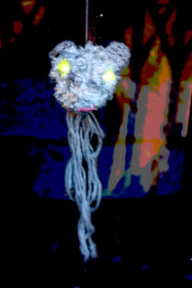 Whodunnknit – Jubileevil Tubeline Trollmouse is watching you | by Deadly Knitshade