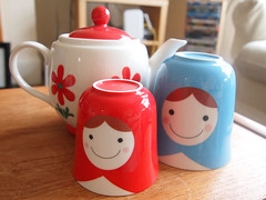 Russian doll stacking teapot | by What Katie Does