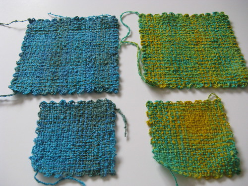 Hazel Loom and Weave-it squares | by michbunny