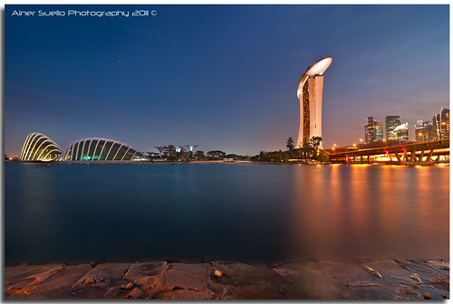 """MBS and Gardens by the Bay"" :: Marina Singapore 
