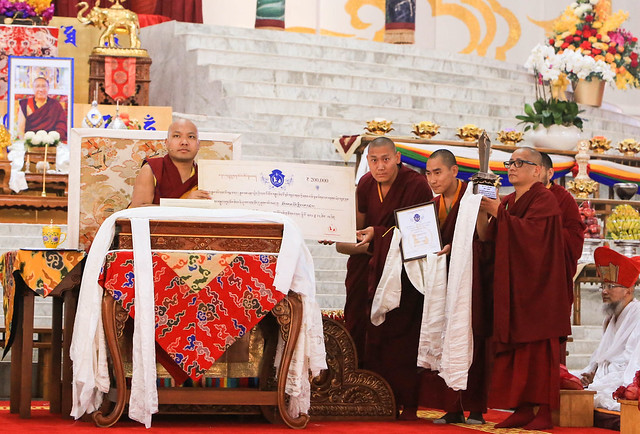20170219AM_Prizes from the Gunchoe, Prizes from Examination of Monastic Forms