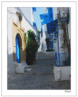 Tunisia :Sidi Bou Said Street | by Daoud FLITES