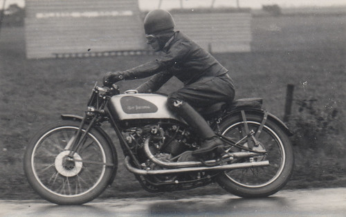 Dutch TT Charlie Dodson on 500cc New Imperial in 1934 | by drentsarchief