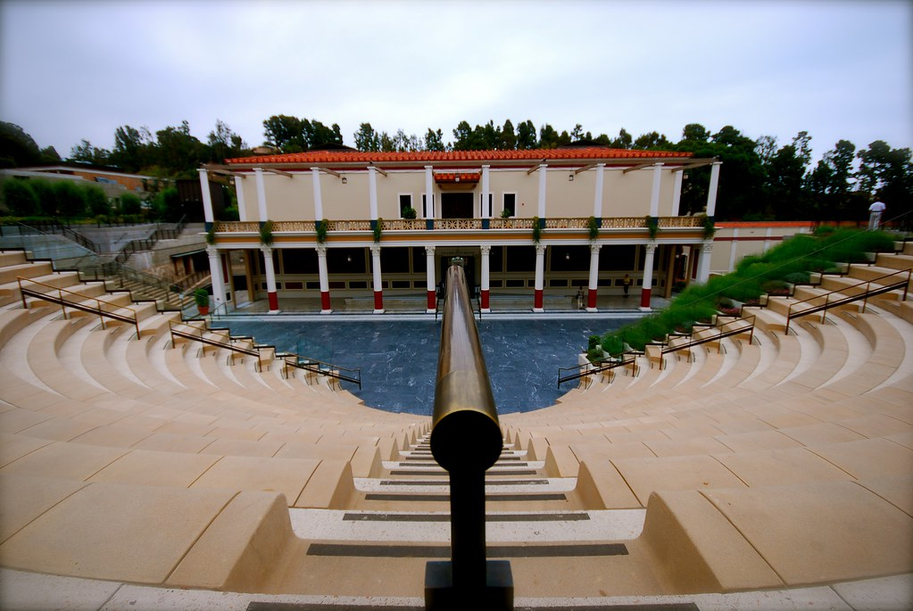 Getty Villa amphitheater view | Getty Villa Malibu, Ca ...