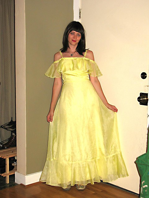 The Grease Prom Dress | I think I bought this almost exclusi… | Flickr