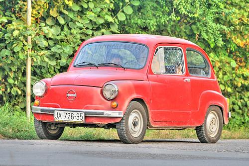 All Car Company >> Zastava 750, Fica, Red in Jagodina (Serbia) | Zastava 750, F… | Flickr