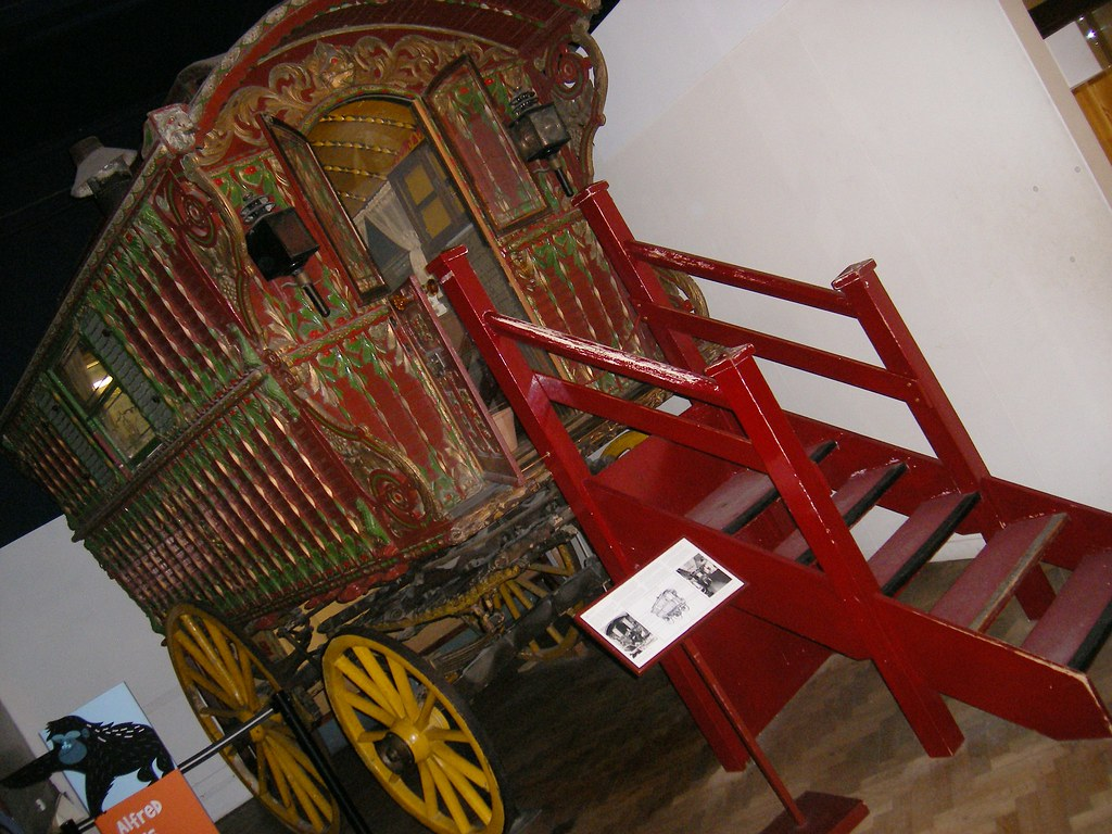 Vardo Romani Wagon Bristol City Museum And Art Gallery