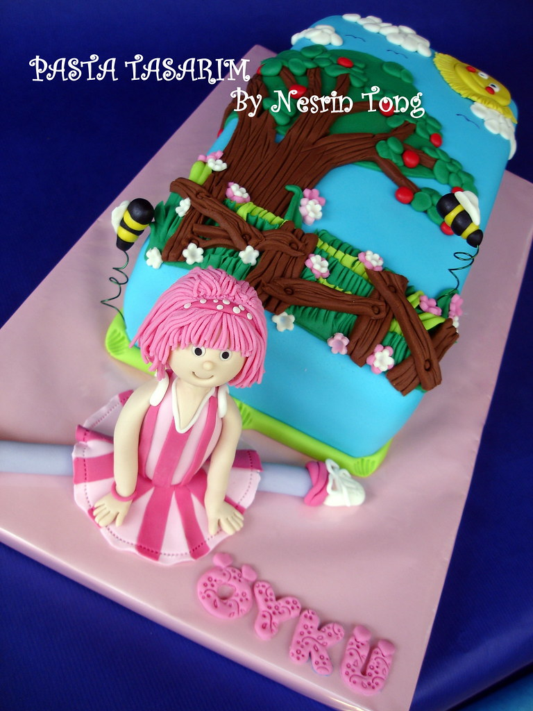 Yk Birthday Lazy Town Stephanie Cake Pasta Tasarim Flickr
