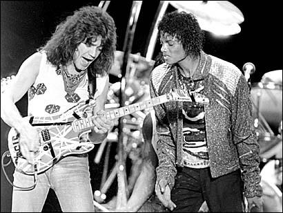 Eddie Van Halen 1984 Eddie Van Halen And Michael