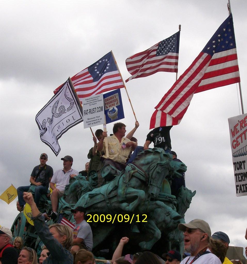 9 12 TEA PARTY MARCH ON WASHINGTON