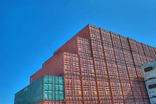 Mountain of containers | by HaliUser
