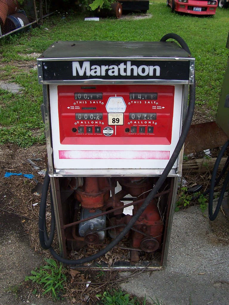 Marathon gas pump