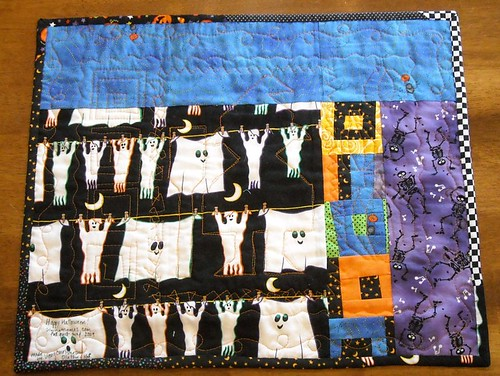 Halloween doll quilt back | by vickivictoria
