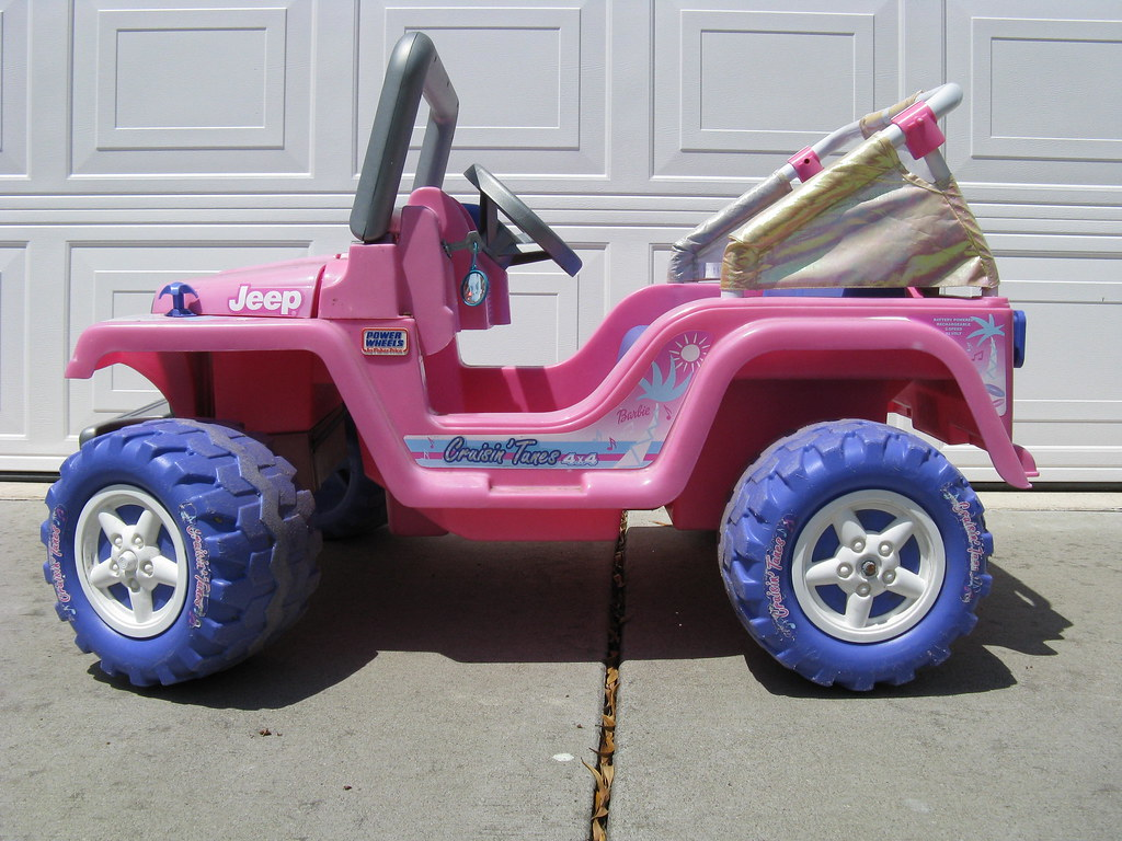 Power wheels fisher price jeep 110 the power wheels for Firerock fireplace prices
