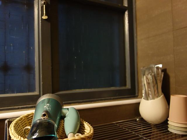 一樓衛浴有 Panasonic 吹風機,二樓廁所還有一支無印良品吹風機,晨起可以好好的打扮一下  @花蓮小晴天旅宿