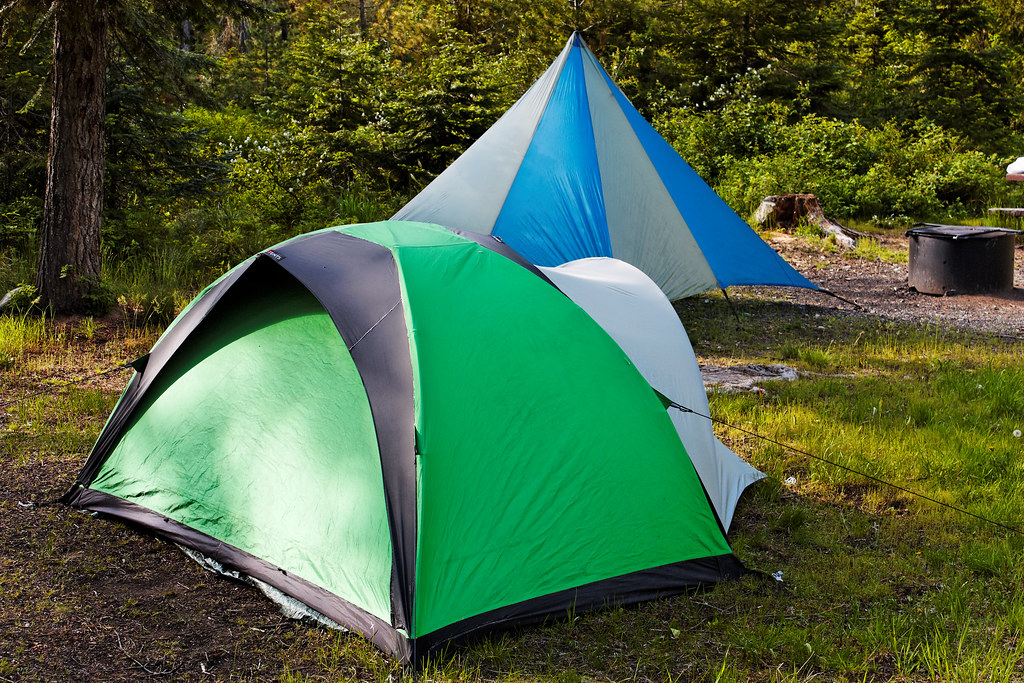 ... Bibler Ahwahnee Tent with Black Diamond Megalight | by CT Young & Bibler Ahwahnee Tent with Black Diamond Megalight | At Whiteu2026 | Flickr
