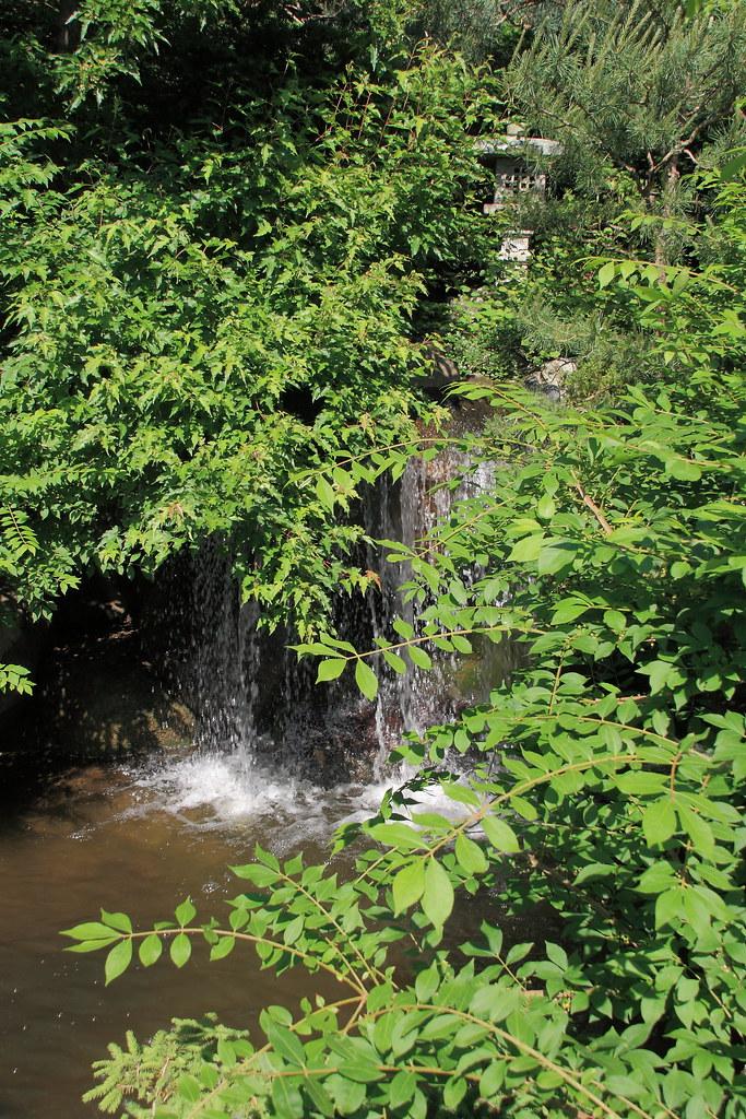 Waterfall Anderson Japanese Gardens In Rockford Il Constr Flickr