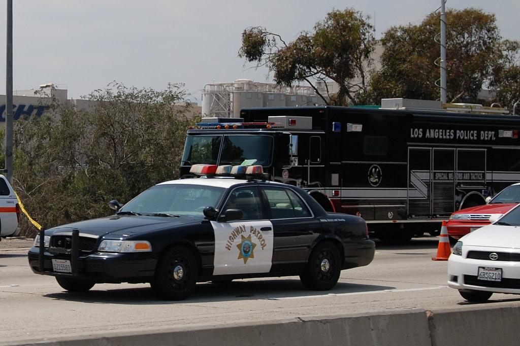 california highway patrol  chp   u0026 los angeles police depar