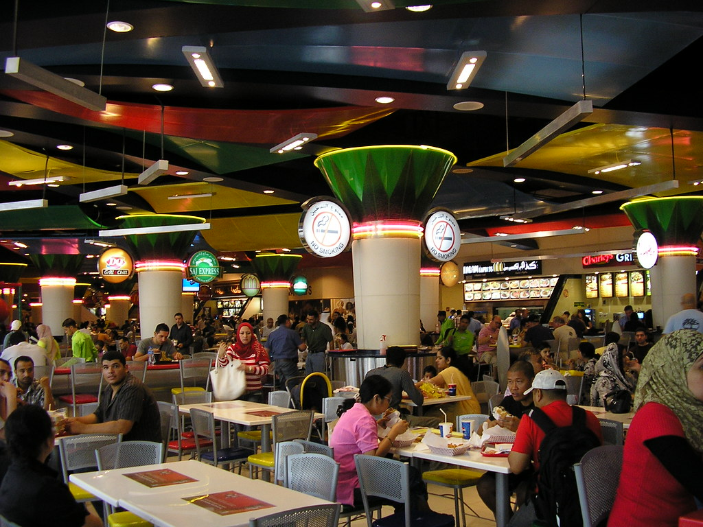 Food Court In Eaton Centre