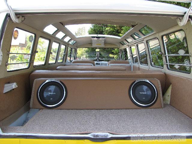... 1966 VW 21 Window Deluxe Bus Interior | By Left Coast Classics U0026 Exotics