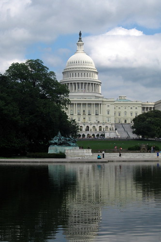 Washington DC - Capitol Hill: United States Capitol and Reflecting Pool | by wallyg