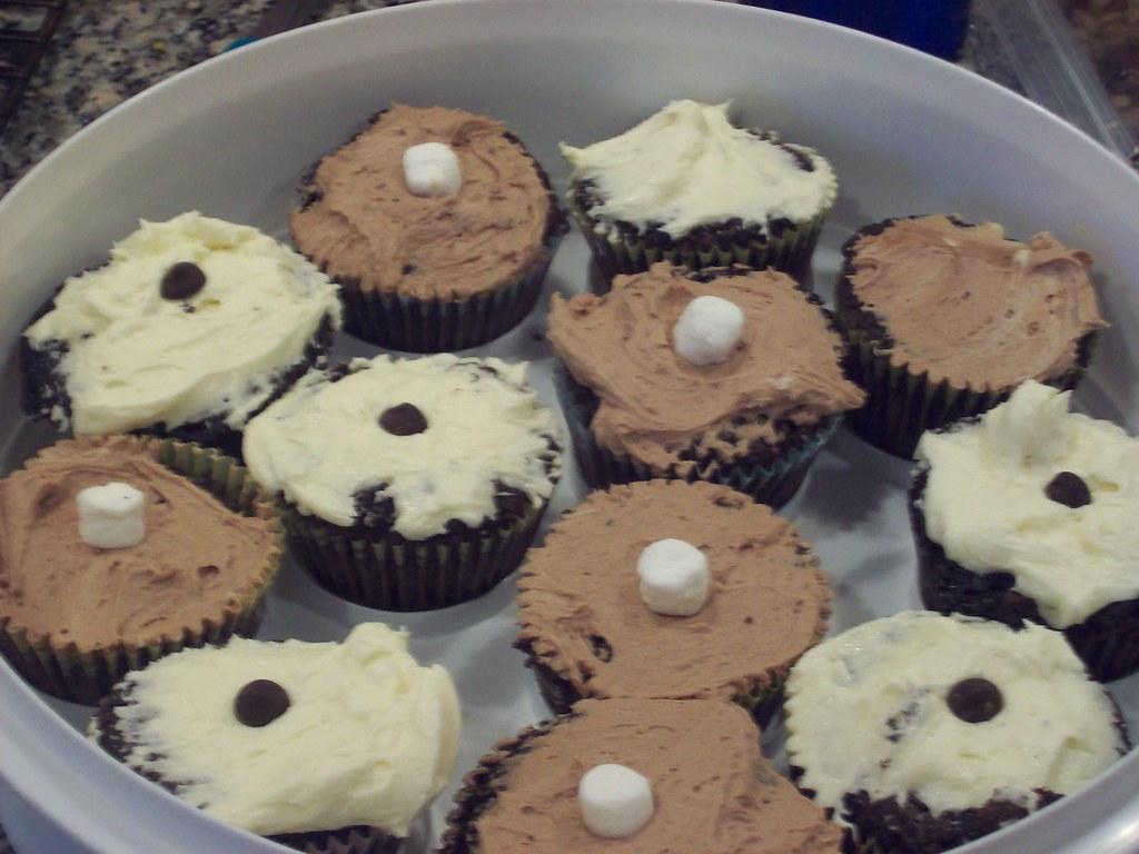 Vegan Wacky Cake Cupcakes