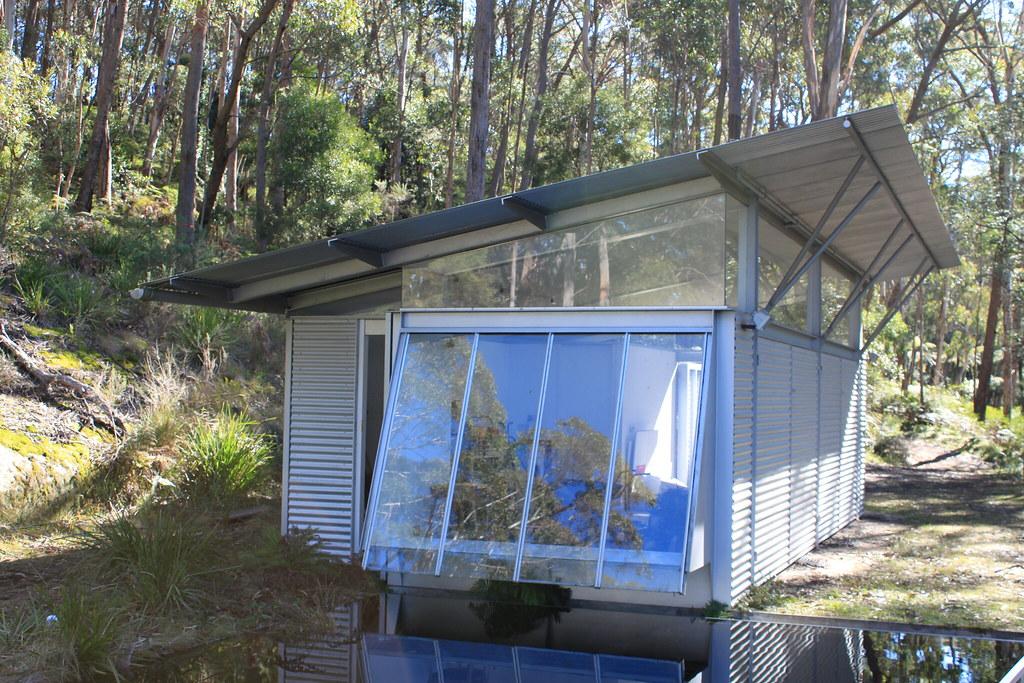 garage the simpson lee house by glenn murcutt the. Black Bedroom Furniture Sets. Home Design Ideas