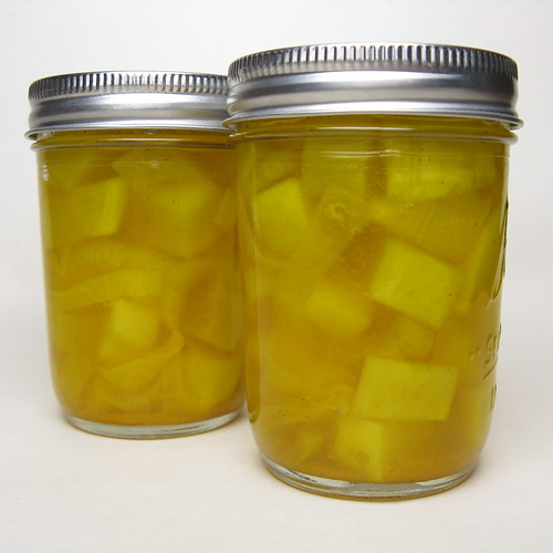 Pickled Zucchini | by katbaro