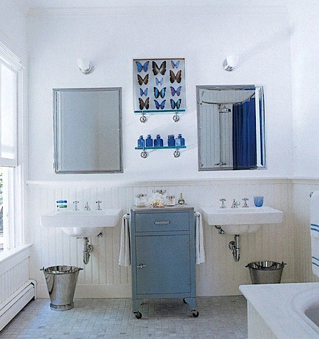 Charmant ... Butterfly Bathroom Elle Decor So Chic | By Camillestyles