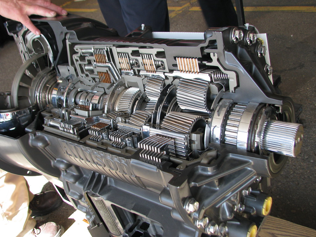 Cutaway Allison Automatic Transmission In The Heavy Duty