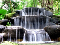 water fall @ sentosa island (nature walk)